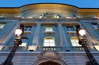 Das Gebäude der Schweizerischen Nationalbank.