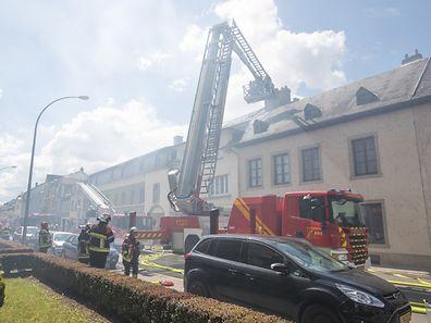 50 Feuerwehrleute waren im Einsatz.