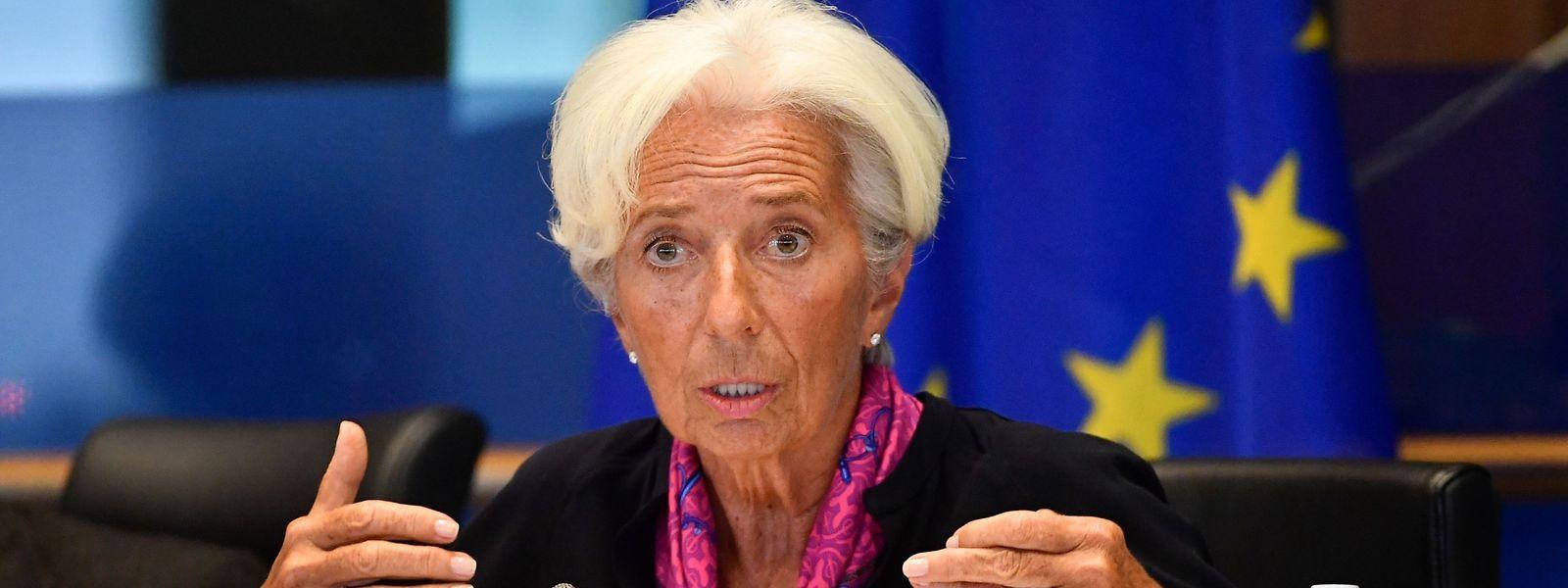 Christine Lagarde a répondu aux questions des députés européens.