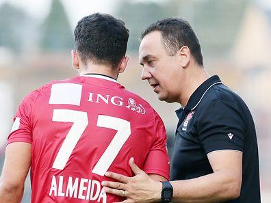 Differdingens Coach Pascal Carzaniga konnte zufrieden sein.