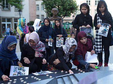 Tous se sont recueillis en hommage aux victimes de l'attentat de Kaboul.