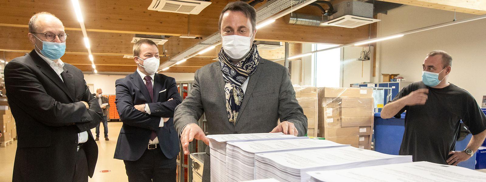 Rien que pour le dépistage, l'imprimerie digitale du CTIE a déjà publié et expédié 4,5 millions d'invitations.