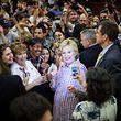 Die demokratische Präsidentschaftskandidatin Hillary Clinton am 5. Juni 2016 in Sacramento.