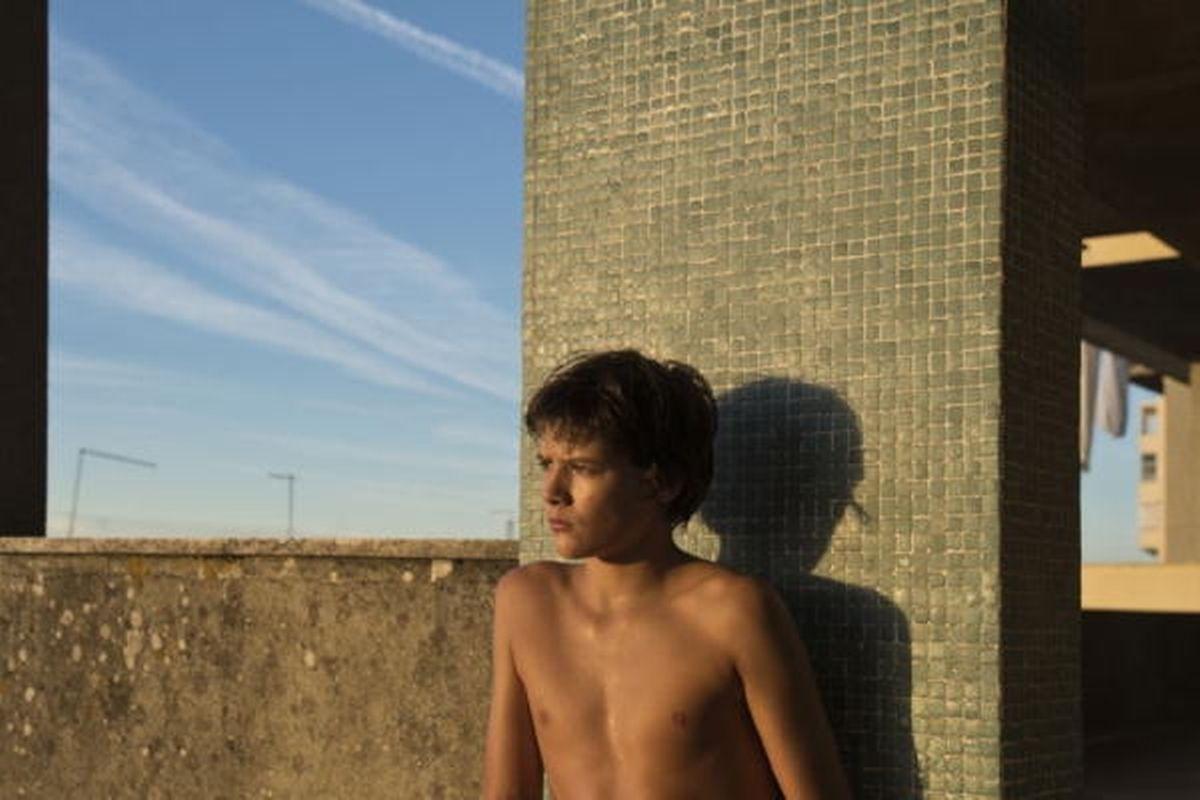 "O actor David Mourato, de 14 anos, é o protagnoista de ""Montanha"", de João Salaviza."