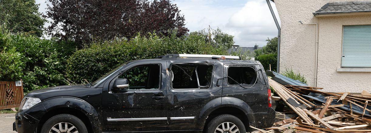 Schaden an Fahrzeugen werden durch die kleine Casco-Versicherung abgedeckt.