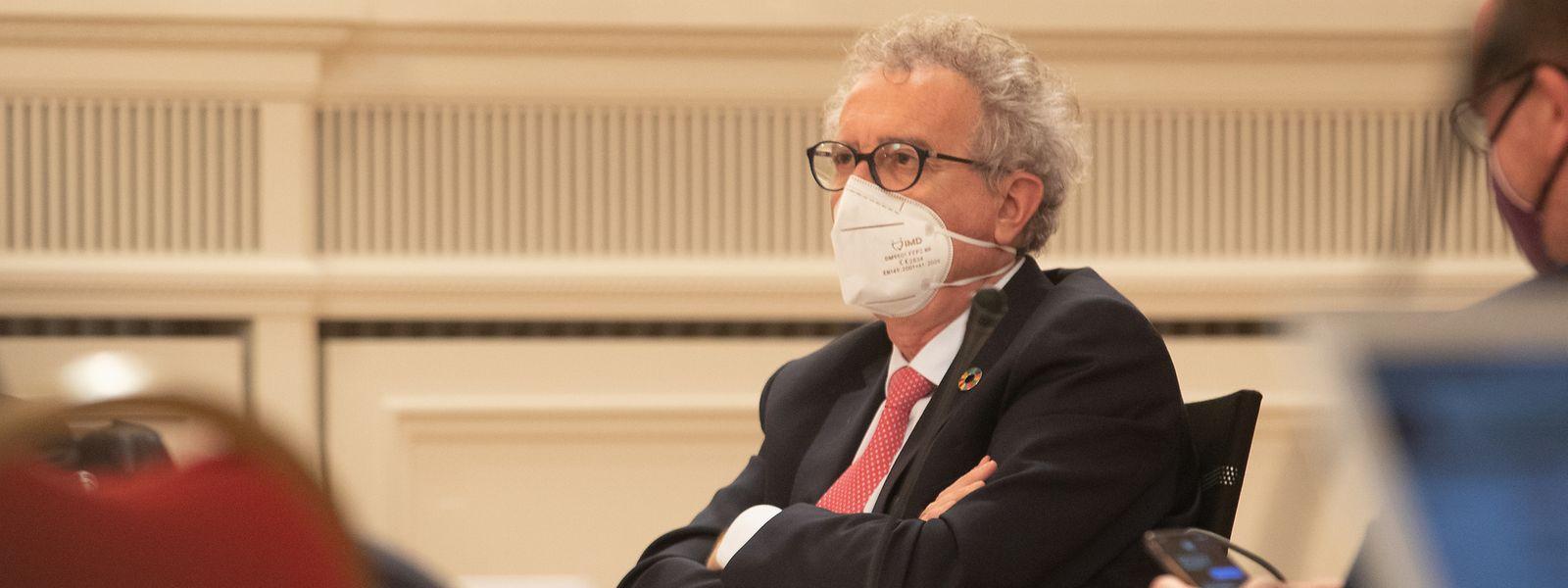 Si Pierre Gramegna assure qu'«il est trop tôt pour en tirer une conclusion pour l'année 2021 dans son ensemble», le ministre des Finances juge que la situation budgétaire du pays devrait tirer bénéfice de la fin programmée de la pandémie.