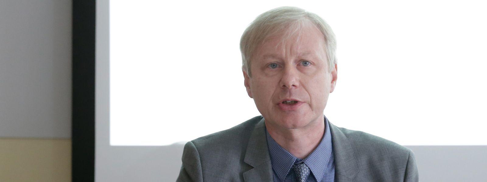 Der Präsident des Luxemburger Ärzteverbands, Alain Schmit.