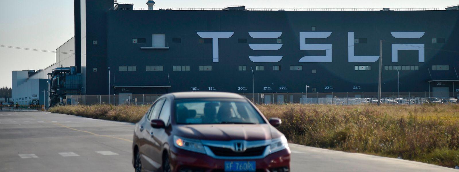 Das chinesische Tesla-Werk wurde in Rekordzeit aus dem Boden gestampft.