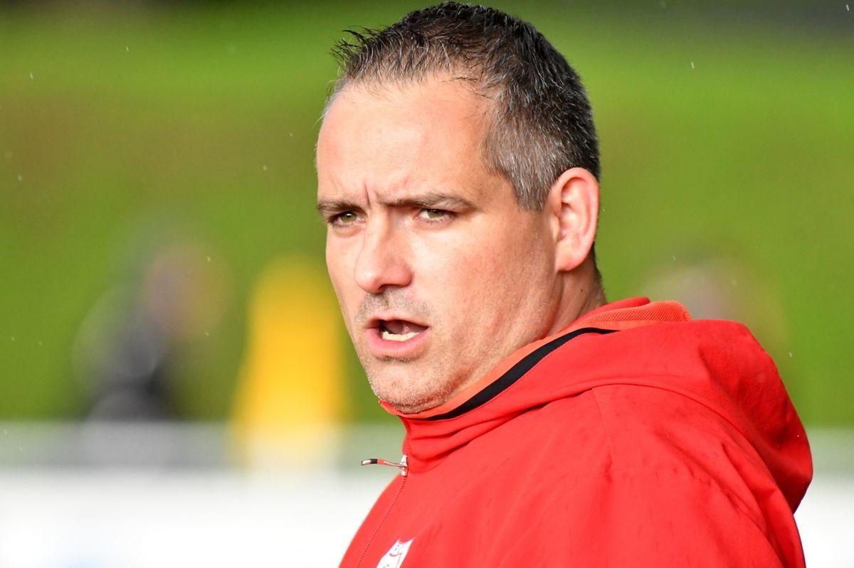 Christian Schartz, l'entraîneur Ent. Rosport-USBC01-Christnach.