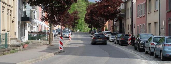 Der Straßenbelag der N7 wird erneuert.