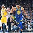 Stephen Curry et les Golden State Warriors sont les favoris à leur propre succession.