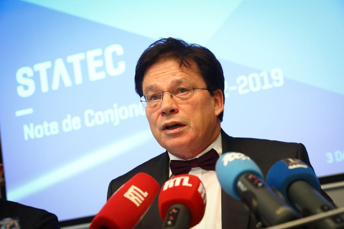 Pour le directeur du Statec, Serge Allegrezza, «le gouvernement a une bonne marge de manœuvre pour investir dans les infrastructures, le changement climatique et la réforme fiscale même si ce sera moins réjouissant en 2020»