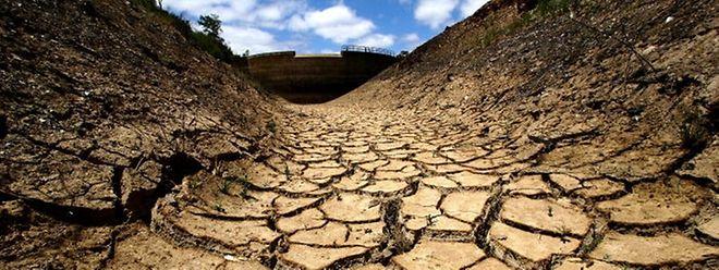 Les retenues d'eau au Portugal affichent des niveaux anormalement bas. Au mois d'octobre dernier, 28 sur 60 étaient à moins de 40 % de leur capacité totale.