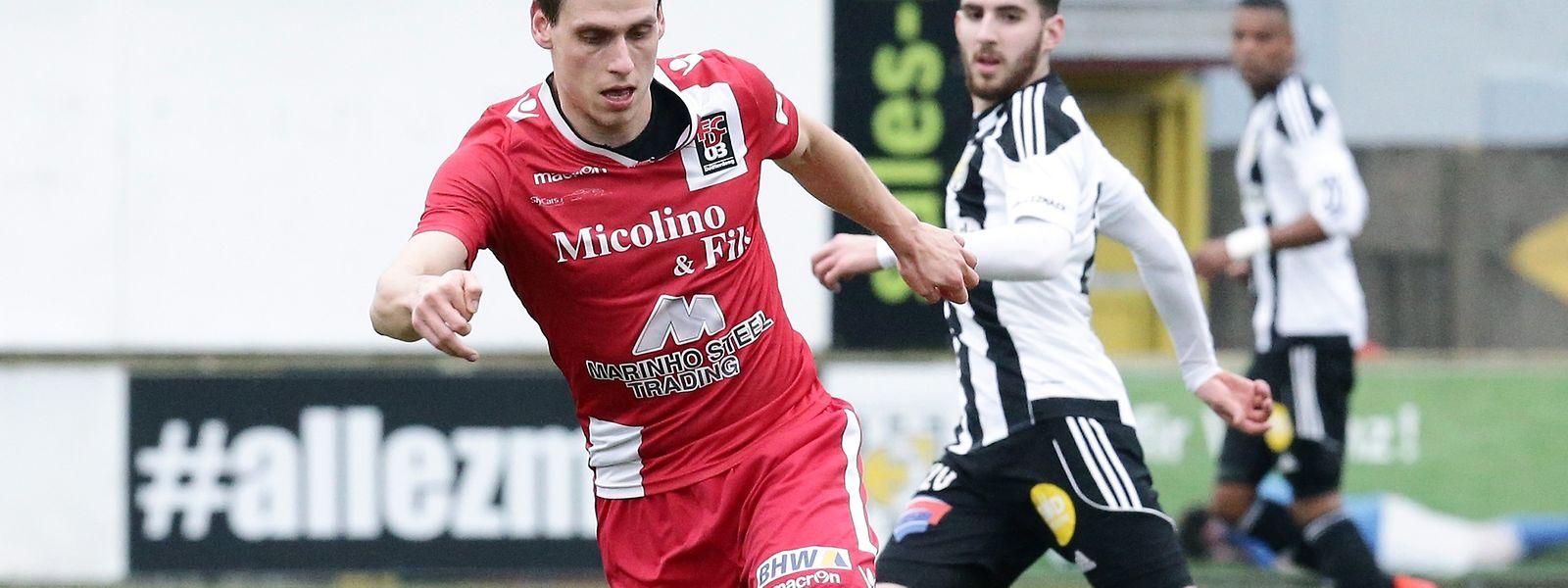 Leistungsträger, Kapitän, Vorbild: Mathias Jänisch spielt seit acht Jahren in Differdingen.