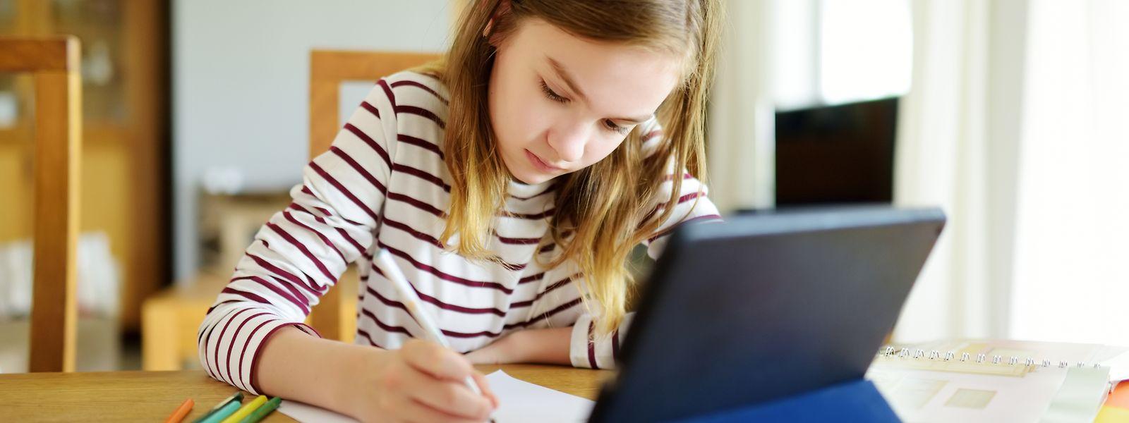 Lernen am Computer: Das war für viele Schüler und Studierende im Lockdown angesagt. Nicht alle haben dabei die gleichen Voraussetzungen.