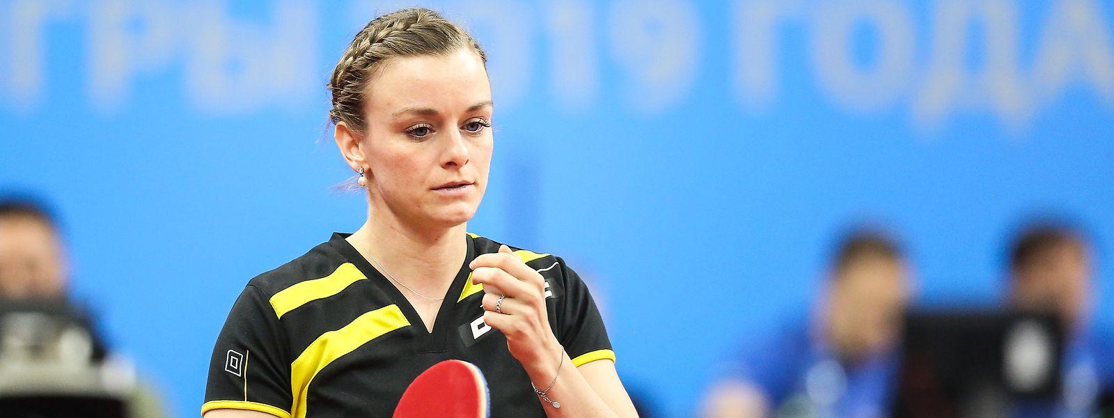 Tischtennisspielerin Sarah De Nutte darf Ende Juli in ihrem Lieblingsland Japan bei Olympia aufschlagen.