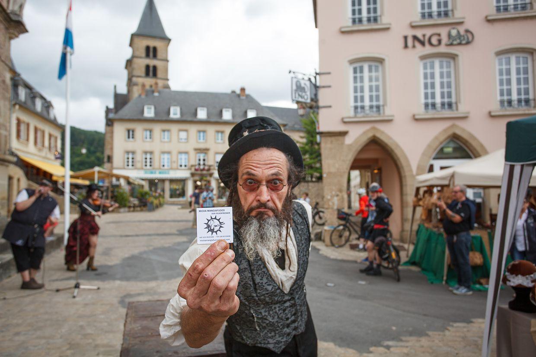 Bei der Steampunk-Convention in Echternach konnten die Besucher in eine andere Welt eintauchen.