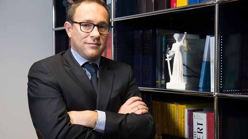 "Georges Everling löste vergangene Woche Alain Thorn an der Spitze des ""Groupement des magistrats"" ab."