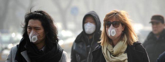 Verheerende Smogphasen sind im Norden Chinas auf viele Jahre zu erwarten.