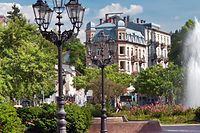 Der deutsche Kurort Baden-Baden ist einer von drei Kurorten, die sich jetzt mit der Welterbeauszeichnung schmücken können.