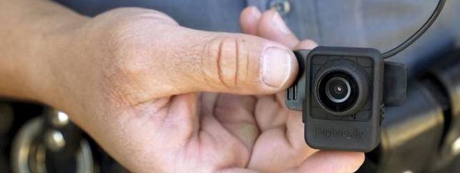 In Amerika zählen Bodycams inzwischen häufig zur Ausrüstung von Polizisten.