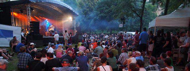 Os palcos do festival estendem-se aos bairros de Clausen e do Grund, na cidade do Luxemburgo