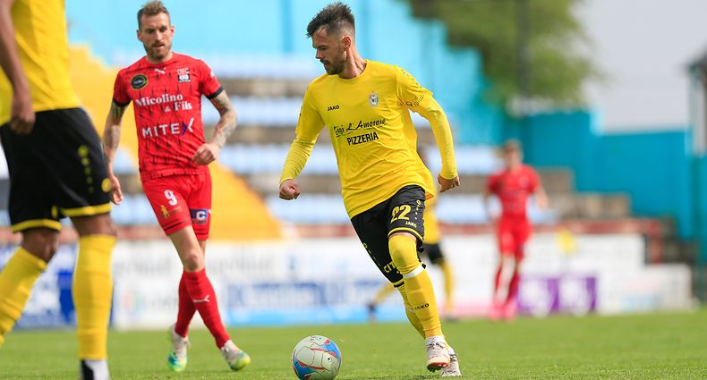 Mario Pokar (F91 - 22) / Fussball BGL Ligue Luxemburg, 25. Spieltag Saison 2020-2021 / 02.05.2021 / F91 Düdelingen - FC Differdingen 03 / Stade Jos Nosbaum / Foto: Yann Hellers