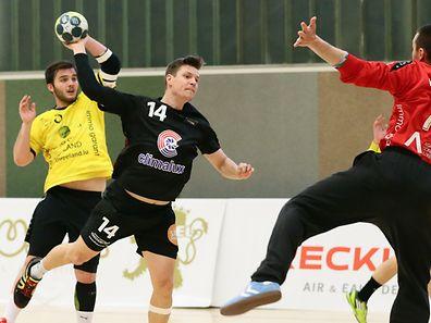 Christian Bock (14) und der HB Esch wurden ihrer Favoritenrolle gegen Petingen gerecht.
