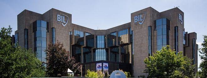 Le siège de la BIL route d'Esch.