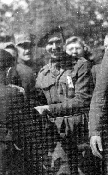 Jean aclamado como um herói na chegada ao Luxemburgo, em 1944.