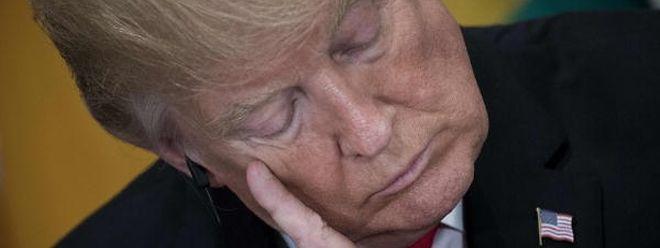 US-Präsident Trump hat sich nun den Zorn der Profiligen