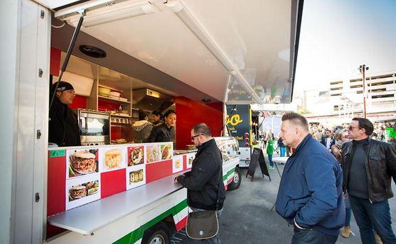 Food Truck Luxembourg Kirchberg
