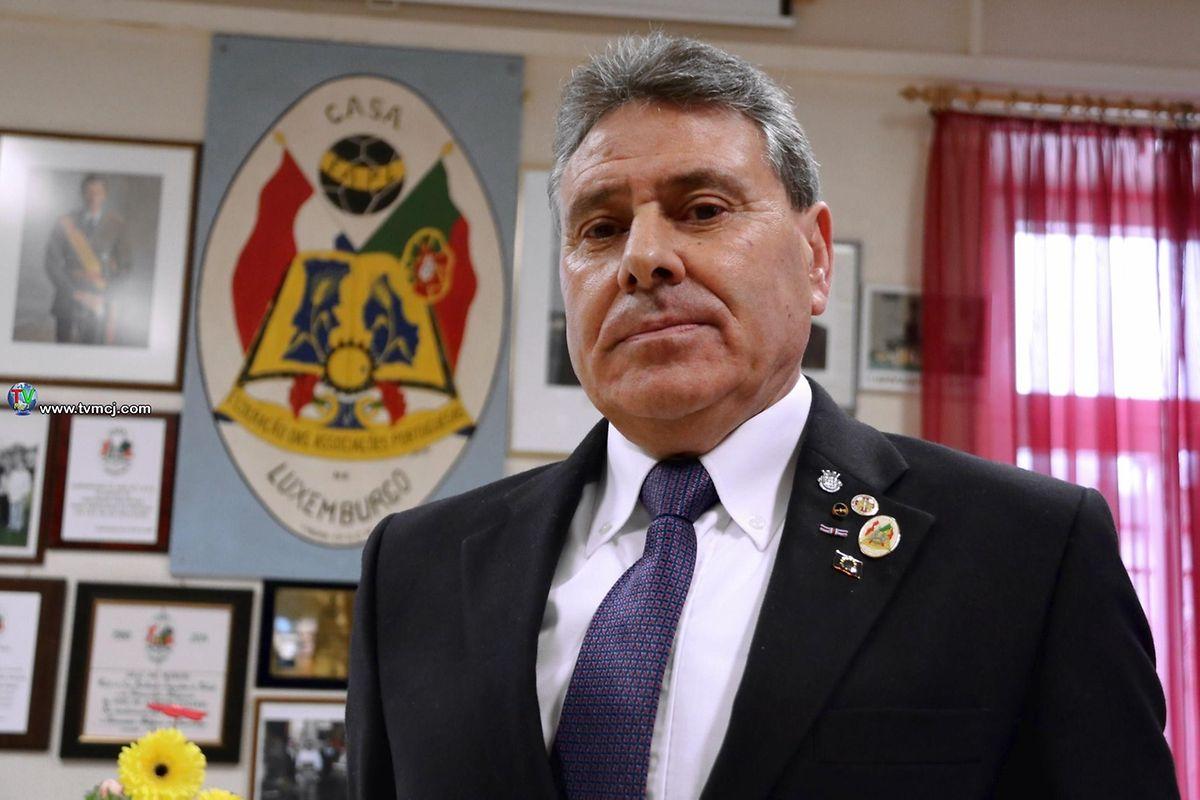 O Comendador José Ferreira Trindade, um dos fundadores do CASA.