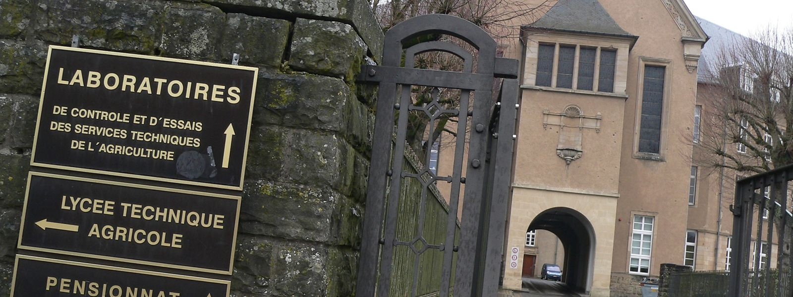 Die 1883 gegründete Ackerbauschule in Ettelbrück wurde in ihrer Geschichte schon mehrfach umgetauft, zuletzt 1979 zum Lycée technique agricole.