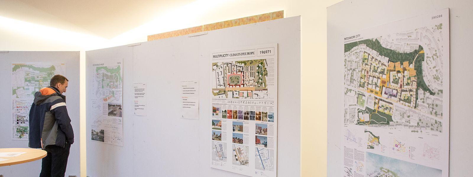 Vom 21. Januar bis 1. Februar hatten die Bürger Zeit, sich die Skizzen im Bierger-Center anzusehen.