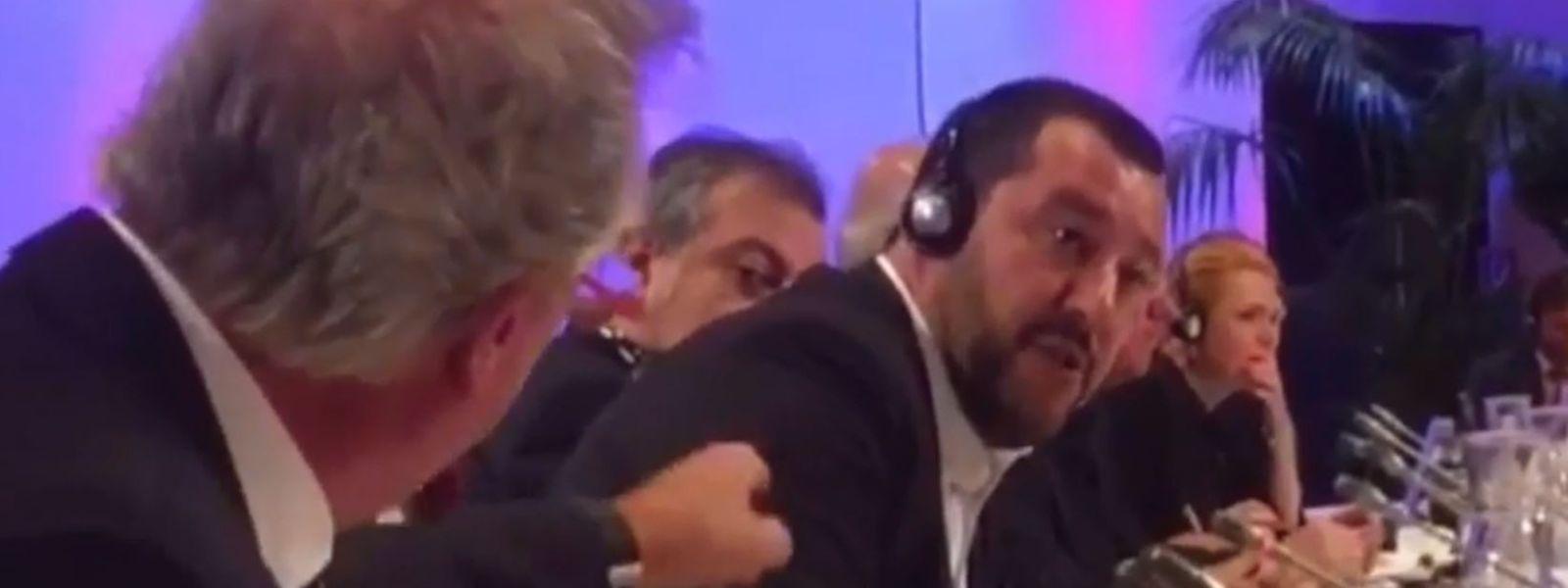 "Jean Asselborn interrompeu Matteo Salvini com um sonoro ""merda, então!""."