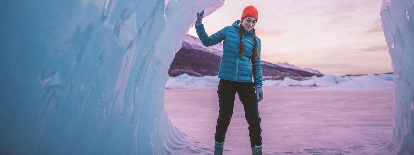 Einige Hersteller von Wintersportmode - wie beispielsweise Columbia Sportswear - setzen auf Farben, wie sonst nur Nordlichter sie an kalten Tagen zaubern können.