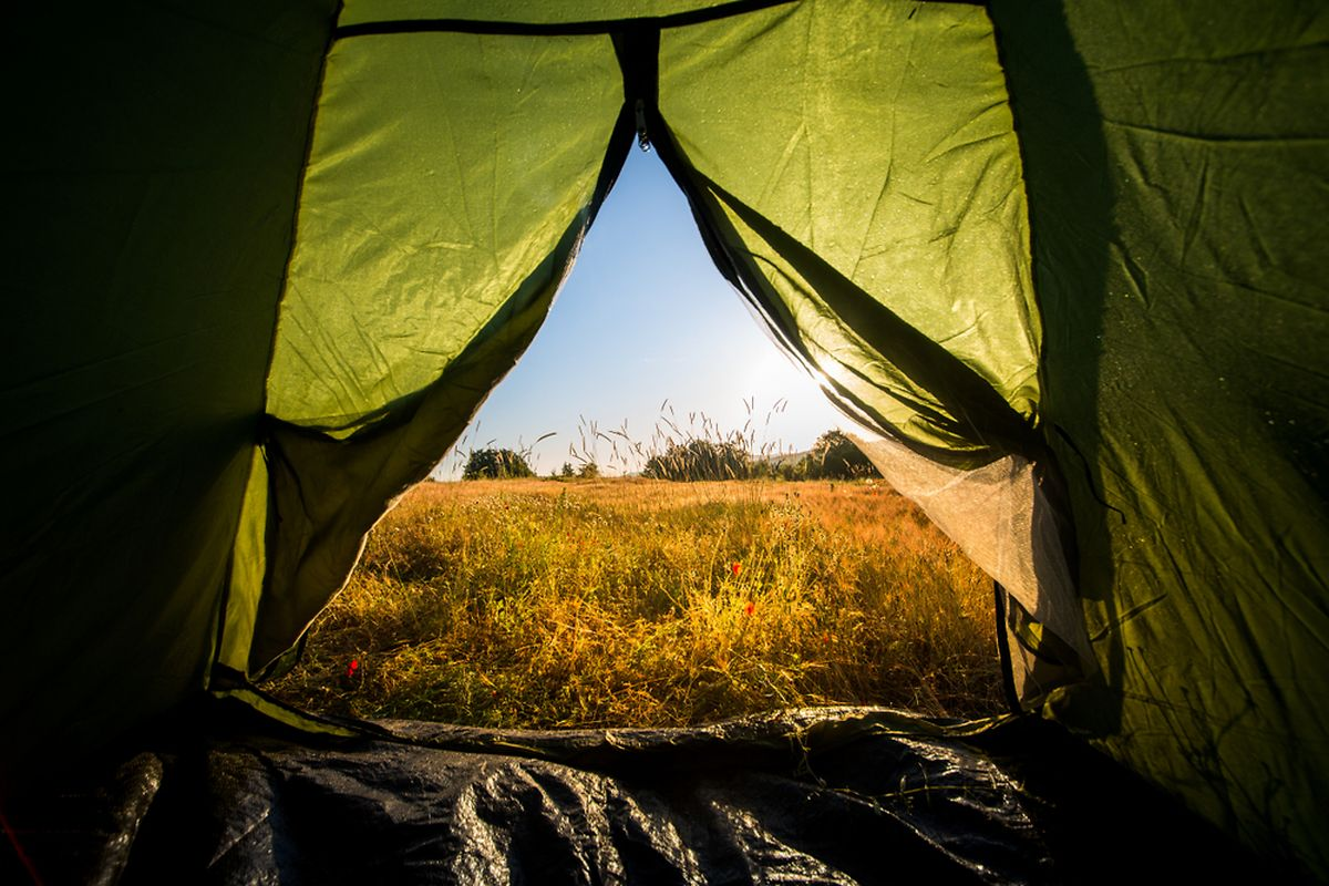 Seasoned campers recommend using a ground sheet below your tent to keep it dry