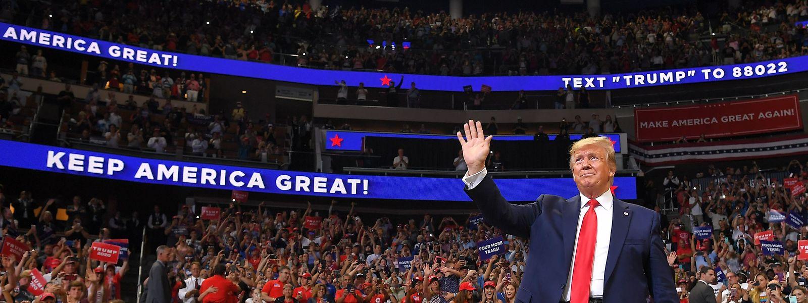 """Der Populisten-Präsident setzt auf Bewährtes. Seine Rede gleicht einem """"Best of"""" seiner eingängigsten Parolen."""