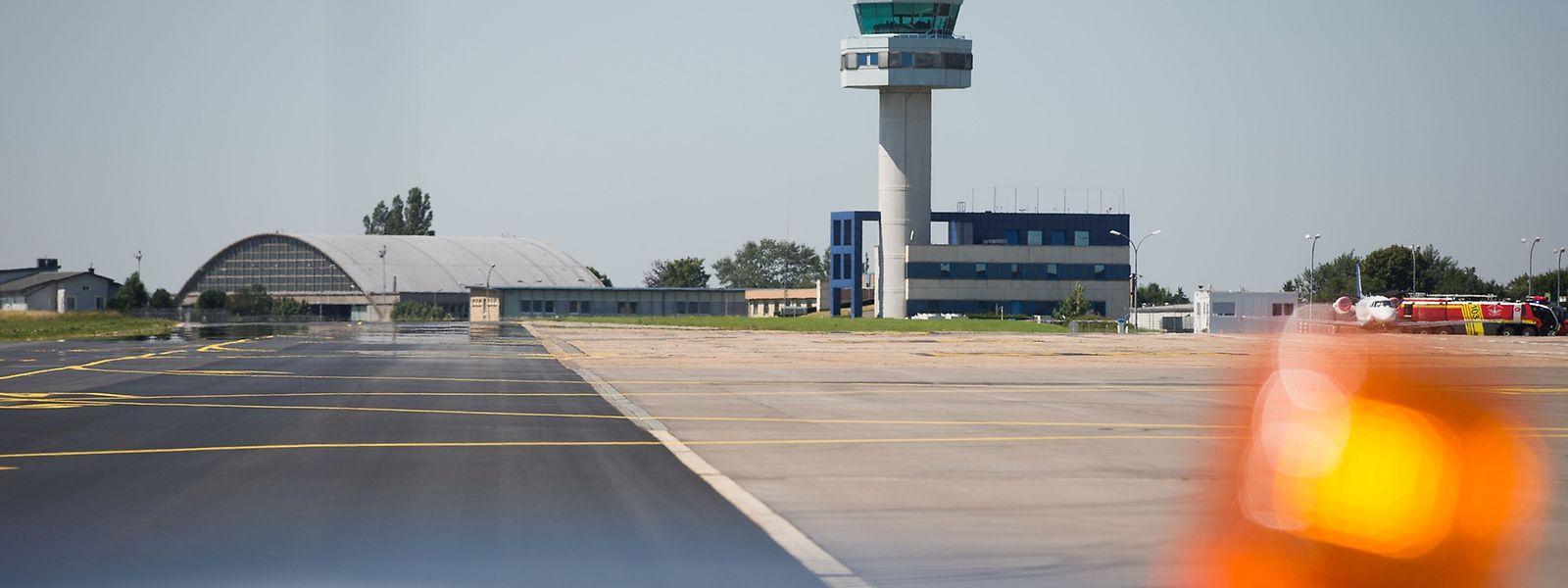 Auf dem Flughafen sind umfangreiche Arbeiten erforderlich.
