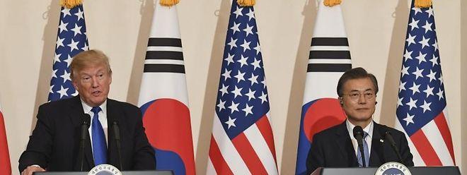 EUA e Coreia do Sul continuam a trabalhar para realizar a cimeira