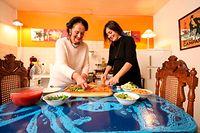 Télécran, Promidiner mit Künstlerin Rita Gierens, Koerisch, Foto: Guy Wolff/Luxemburger Wort