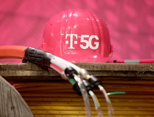 EU companies like Germany's Deutsche Telekom are pushing ahead with 5G networks, one of several technology sectors in which Europe lags behind China and the US.