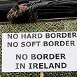In Irland protestiert man seit längerem gegen eine mögliche Schließung der Grenze mit Großbritannien.