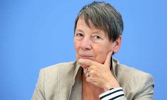 Germany's environment minister Barbara Hendricks