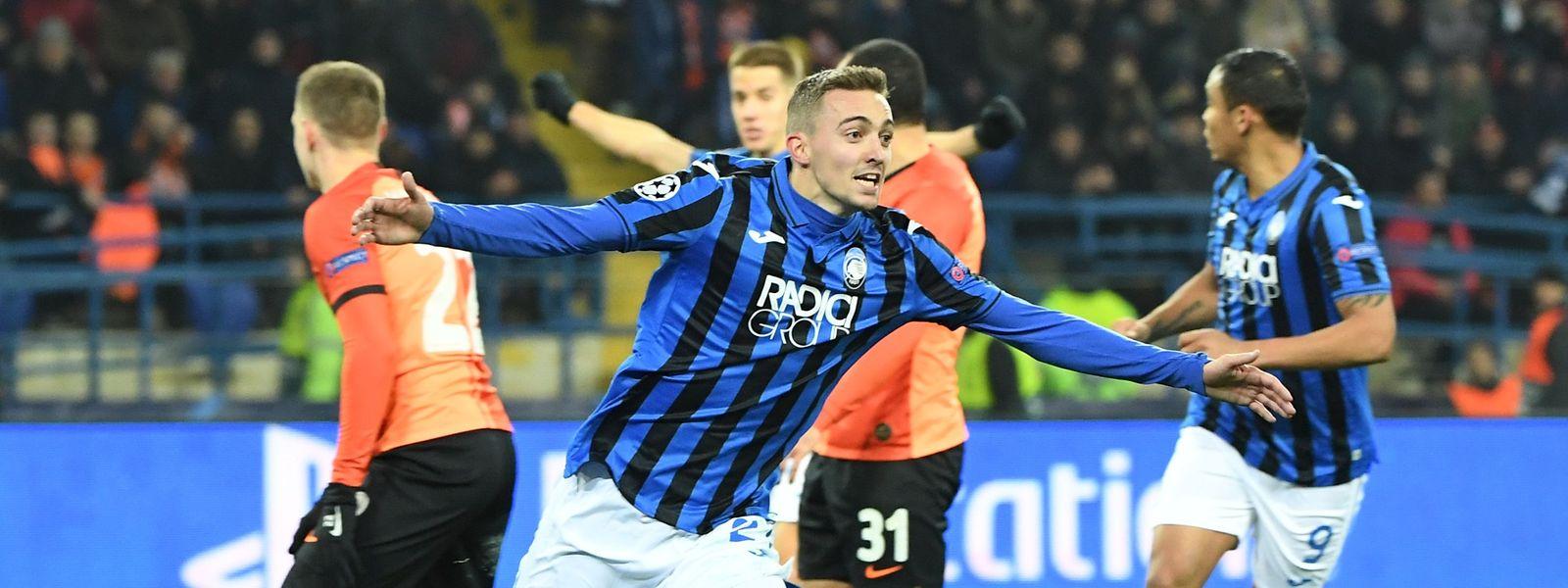 Timothy Castagne, buteur contre Donetsk, et l'Atalanta vont disputer les huitièmes de finale de la C1 pour la première fois de l'histoire du club de Bergame.