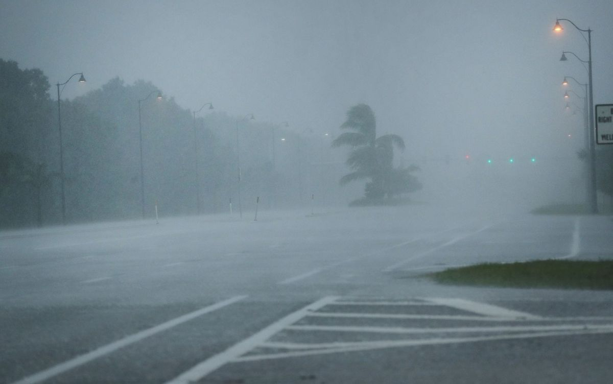 Meteorologen warnen in Florida vor schweren Regenfällen, Sturmfluten und Tornados.