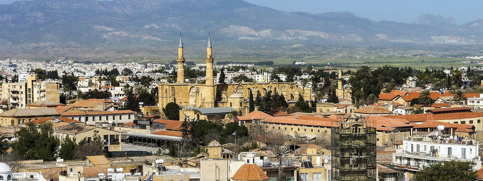 Noch ist die zyprische Hauptstadt Nikosia getrennt.