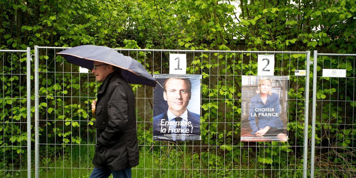 Residentes franceses no Luxemburgo acreditam na vitória de Macron