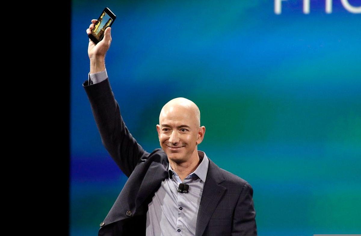 """Amazon-Chef Jeff Bezos arbeitet an der Entwicklung einer Trägerrakete. Das Projekt heißt """"Blue Origin""""."""